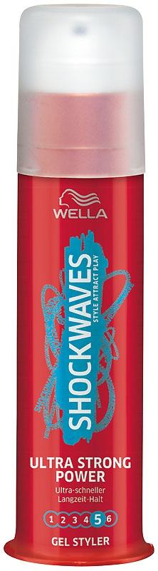 Wella Shockwaves Ultra Strong Power Gel Styler