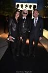 Karl Lagerfeld bei der Eröffnung ddes Pop Up Friseursalons