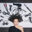 Haarstyling, das auch die Haare abkönnen